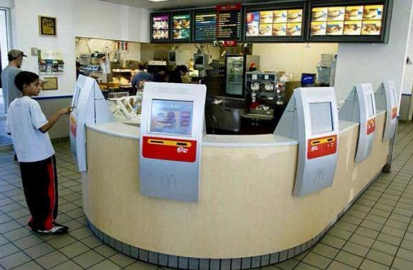 McDonalds automated ordering